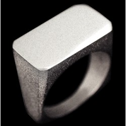 Bague CLEAN RECTANGLE